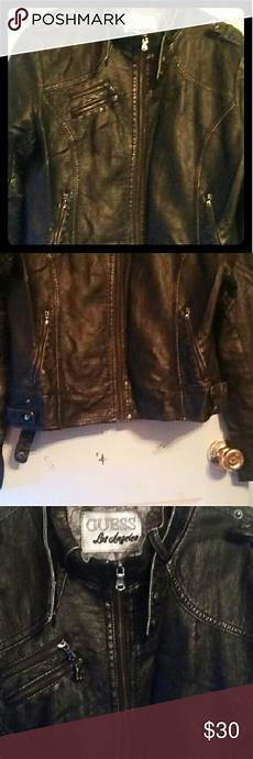 guess coats for thin guess moto leather jacket with images leather moto