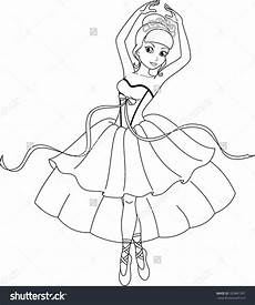 coloring pages of a ballerina tripafethna