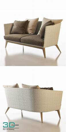 Sofa For Two 3d Image by 159 Point Arc Outdoor 2 Seater Sofa 3d Mili