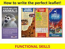 Examples Of Leaflets Writing A Leaflet With Examiner Podcast Functional