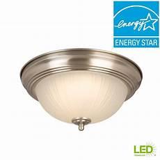 Change Light Bulb Ceiling Flush Mount Never Change A Bulb Again With Integrated Led Light
