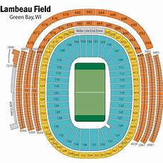 Green Bay Packers Seating Chart Breakdown Of The Lambeau Field Seating Chart Green Bay