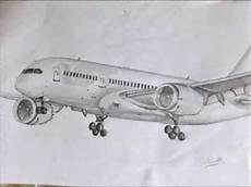 Airplanes Drawings My Commercial Airplane Drawings Youtube