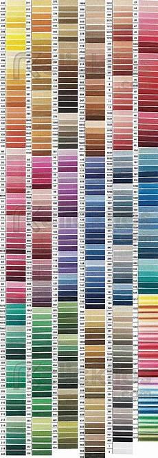 Dmc Chart Dmc Color Chart Cross Stitch Thread Cross Stitch