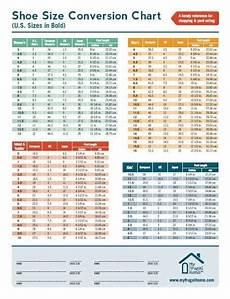 Shoe Size Translation Chart Shoe Size Conversion Chart
