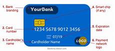 My Creditcard Number Parts Of A Debit Or Credit Card