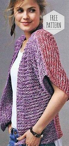 knitting vest free pattern