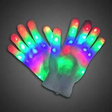 Light Up Gloves For Kids Rainbow Sparkling Led Lighted Gloves