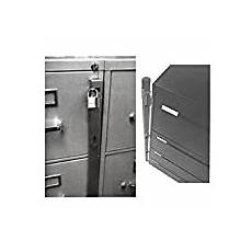 locking bar for use with 4 drawer filing cabinet
