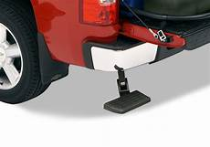 research bedstep tailgate truck bumper retractable bed