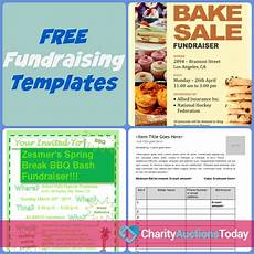 Donation Flyers Templates Free Free Fundraiser Flyer Charity Auctions Today