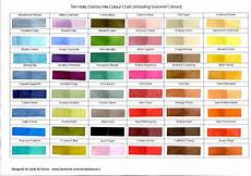 Ink Color Chart Tim Holtz Distress Inks Colour Chart Including Season