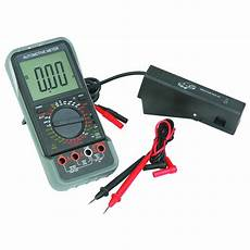 Harbor Freight Test Light Lcd Automotive Multimeter With Tachometer Kit