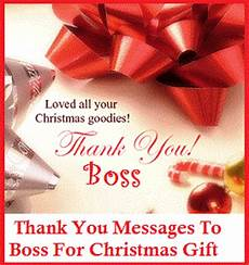 Thank You Notes To Boss For Gift Thank You Messages Boss