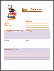 Book Report Free Book Report Amp Worksheet Templates Word Layouts
