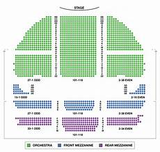 Wicked Seattle Seating Chart Gershwin Theatre Large Broadway Seating Charts
