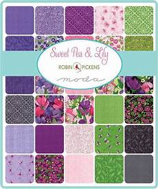 sweet pea and charm pack moda 48640pp 5 quot inch