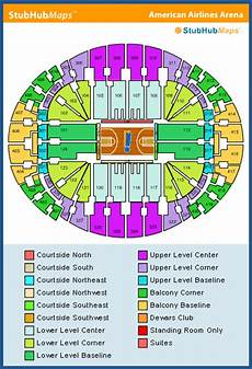 Aa Arena Miami Seating Chart Americanairlines Arena Seating Chart Pictures Directions