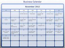 Business Calendar Conceptdraw Samples Timelines And Schedules