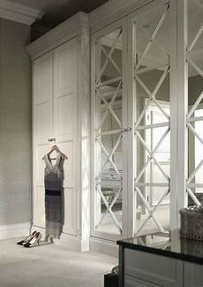 beautiful floor to ceiling wardrobes with solid doors and