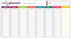 Todo Calendar Planner Weekly Planner Template Doliquid