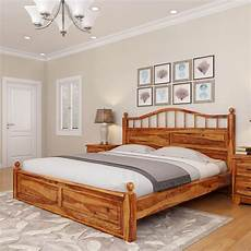 colonial rail top solid wood platform bed frame