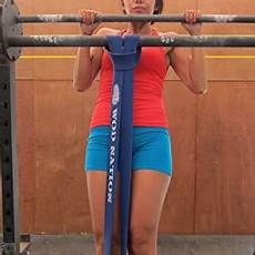 Pull Up Band Assistance Chart Amazon Com Pull Up Assist Band By Wod Nation Best For