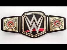 Design A Wwe Belt Online Wwe Championship Belt Designs 1963 Present Used And
