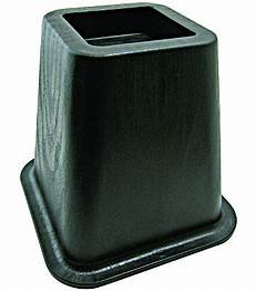 shepherd hardware 9523 6 1 8 inch square bed risers 4 pack