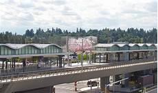 Seattle Light Rail Angle Lake Station Angle Lake Light Rail Station Debuts On Saturday