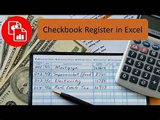 Free Excel Checkbook Register Create A Checkbook Register In Excel Youtube
