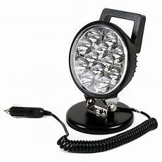 12v Led Magnetic Work Light 0 420 79 Durite 12 24v Dc 12 X 3w Led Work Lamp With