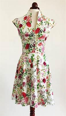 flower dress floral dress summer dress vintage by