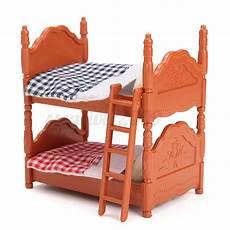 1 12 scale dollhouse miniature furniture plastic bunk bed