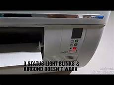 Idylis Ac Unit Blinking Red Light York Aircond Troubleshooting Youtube