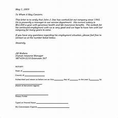 Notary Signatures Examples Notary Document Sample Template Business