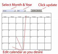 Calendar Free Templates Free Calendar Templates Fotolip