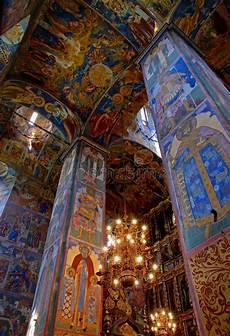 fresco old fresco in orthodox church stock photo image of