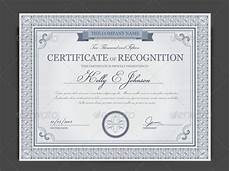What Is Certificate Of Recognition Free 29 Sample Certificate Of Recognition Templates In