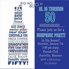 50th Birthday Invitations Free Funny 50th Birthday Party Invitations Wording Free
