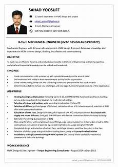 Hvac Project Manager Resumes Sahad Yoosuff Yahoo In 971524852892 Sahad Yoosuff 1 2