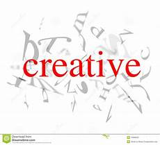 Word For Creative Creative Words Stock Photo Image 13986530