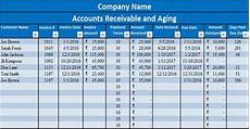 Accounts Receivable Statement Template Download Accounts Receivable With Aging Excel Template
