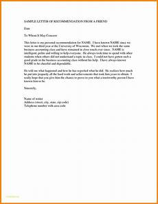 Reference Letter For Immigration For A Friend 7 Recommendation Letter For Immigration For A Friend