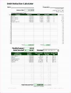 Calculate Debt Repayment 12 Student Loan Repayment Excel Template Excel Templates