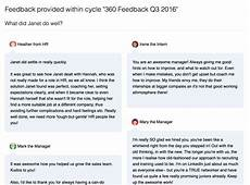 Manager Feedback 360 Performance Reviews 183 Small Improvements