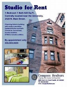 Free Apartment Advertising Apartment Rental Flyer Great For Student Housing