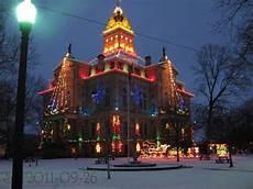 Newark Ohio Light The Night Courthouse In Newark Ohio Newark Ohio