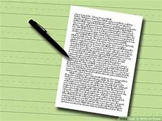 Written Essays How To Write An Essay With Pictures Wikihow