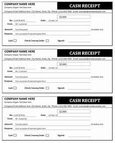 Reciept Templet Cash Receipt And Invoice Templates Sales Invoices